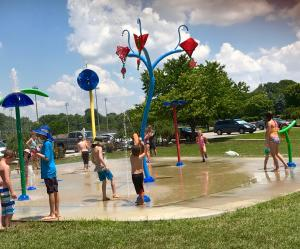 Hummel Park Splash Pad is a perfect way to cool off!