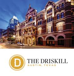 Driskill logo sweeps