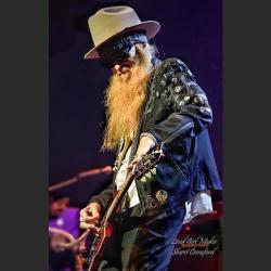 Billy Gibbons of ZZ Top performing at Wilson Center
