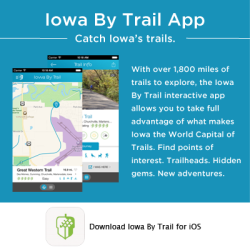 Iowa By Trail App Button