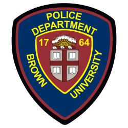 Brown Police Badge