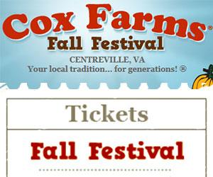 Cox Farm Fall Festival Buy Tickets