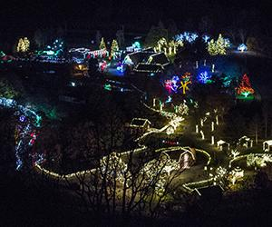 Lehigh Valley Zoo Winter Lights Ad