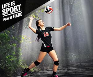 Life is Sport - Volleyball - Sun Trees