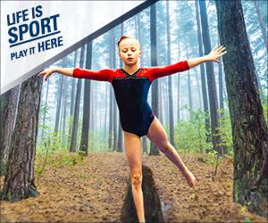Life is Sport - Gymnastics - Balance Beam