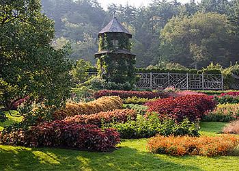 Mohonk Garden Summer