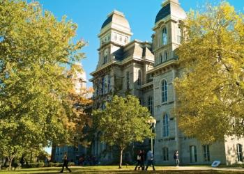 Fall Syracuse University Campus - Wainwright