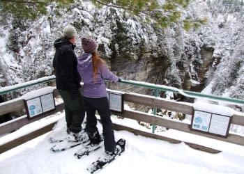 Ausable Chasm_Winter Tours_2 - Photo by Adirondack Coast Visitors Bureau