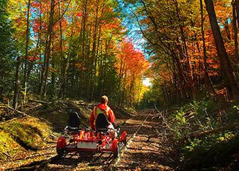 Rail Bikes
