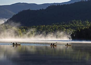 Mirror Lake - Kayaking