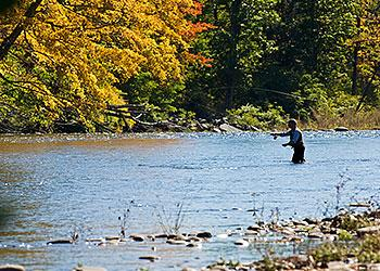 Fly Fishing on Esopus Creek