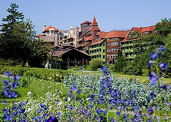 Gardens in Spring at Mohonk Mountain House-Photo by Jim Smith Photography