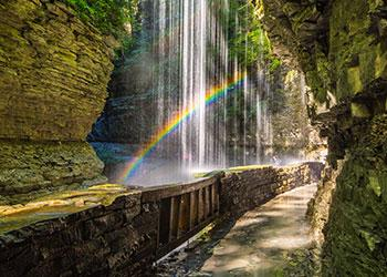 Watkins Glen State Park - Photo by Beautiful Destination