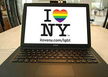 I love NY laptop