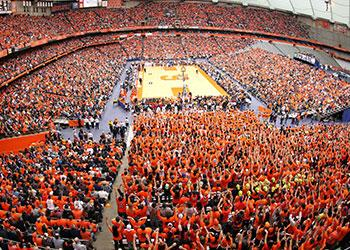 The Carrier Dome at Syracuse University - Photo Courtesy of Carrier Dome