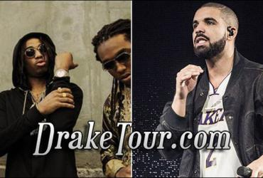 Drake and Migos in Salt Lake City