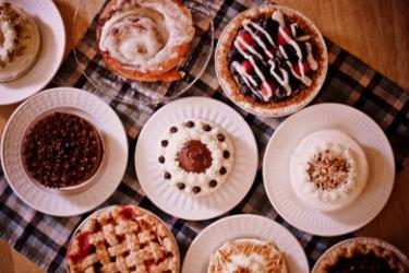 Bread Basket pies, tarts and cakes