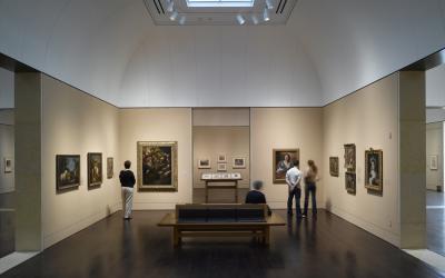 Blanton Museum - interior gallery