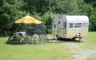 Camping Indiana Dunes State Park