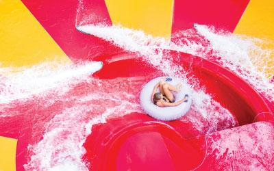 Deep River Waterpark waterslide