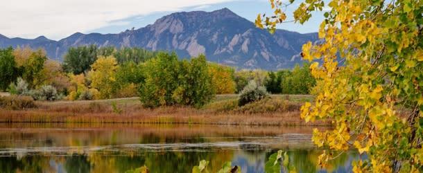 Sawhill Ponds Boulder Fall