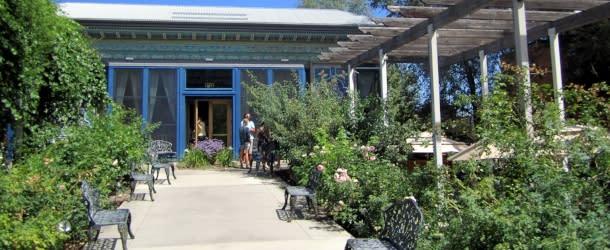 Boulder Dushanbe Teahouse Rose Garden