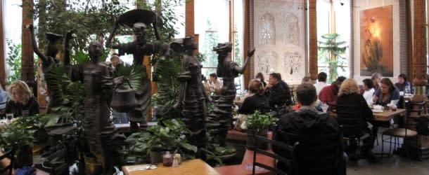Boulder Dushanbe Teahouse Fountain