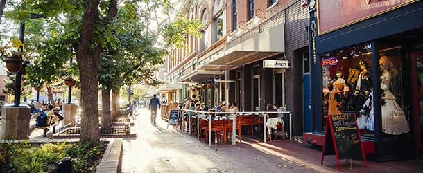 Pearl Street in Sunlight