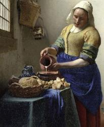 """The Milkmaid"" by Vermeer"