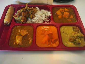 The Hurry Curry lunch allows you to sample a wide variety of cuisine.