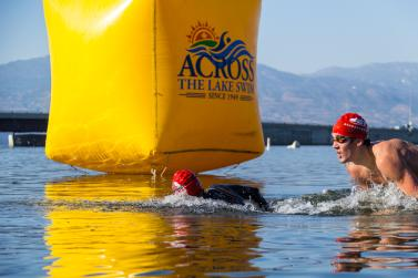 Across the Lake Swim Kelowna