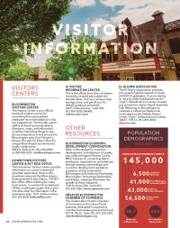 2017 visitor information
