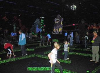 Monster Mini Golf in Avon, Indiana