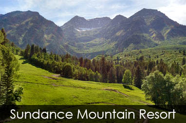 Sundance Mountain Resort scenery