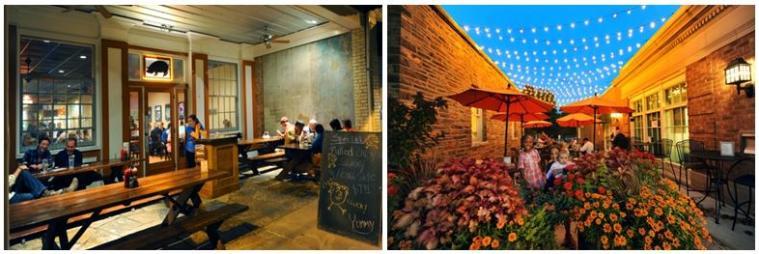Hillsborough and Radius Pizzeria Outdoors