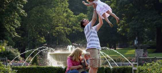 Loose Park Visit KC