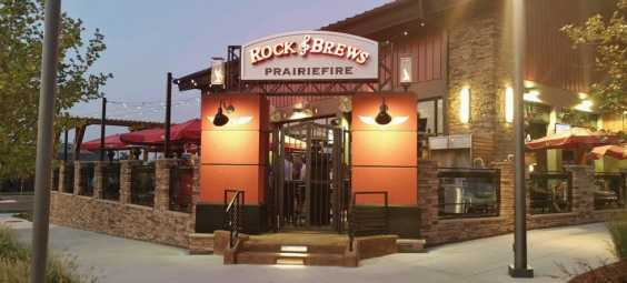 Rock and Brews Patio