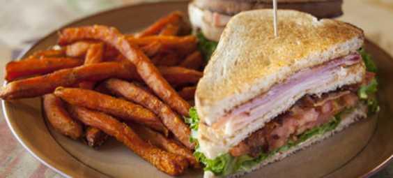 Santa Fe Café sandwich
