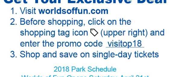 Worlds of Fun Visit OP 2018 Discount