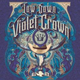 Low Down Violet Crown album cover artwork