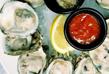 Hull & High Water oysters