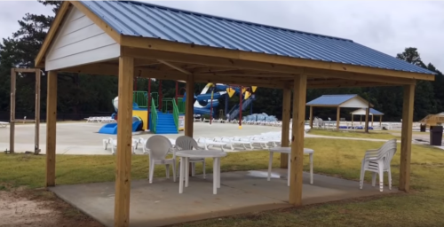 Pavilions at Sandy Beach Water Park