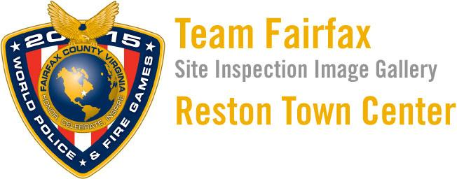 2015 World Police & Fire Games Site Inspection: Reston Town Center Image Gallery Header