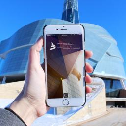 Canadian Museum for Human Rights Phone App
