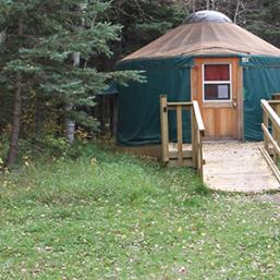 Yurt in Riding Mountain National Park