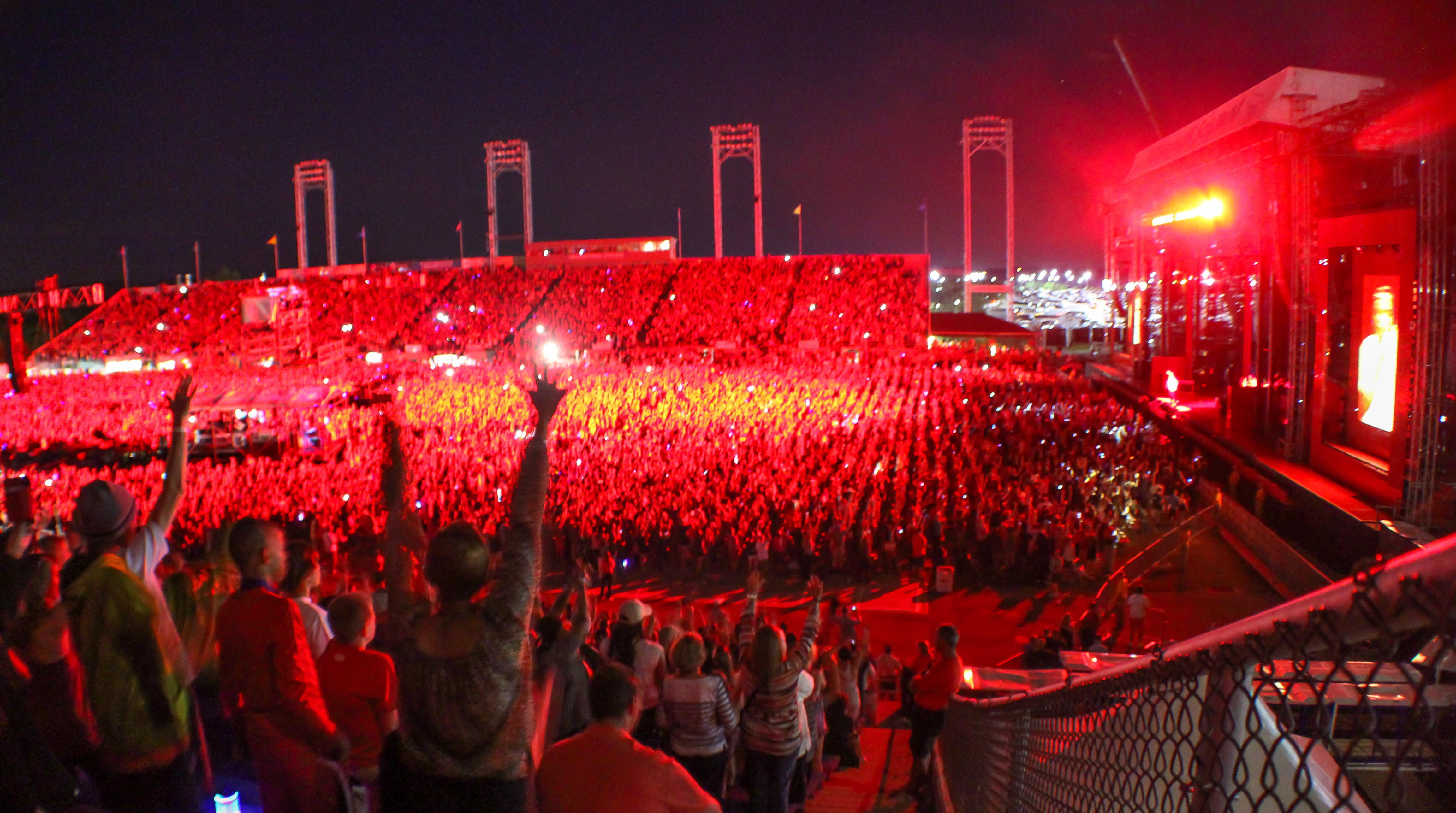 Concerts at Hersheypark Stadium