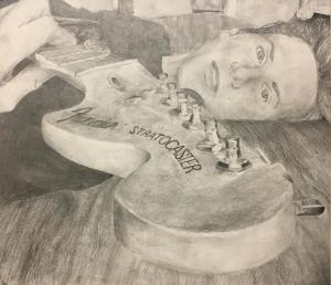 Lucy Reid of Glens Falls is among the one hundred finalists selected for the 26th annual High School Juried Show at The Hyde Collection. The exhibition opens Sunday, May 7, in the Museum's Charles R. Wood Gallery