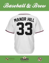 Manor Hill Maryland Brew Scorecard Jersey