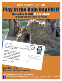 Play In The Rain Day Flyer