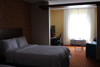 Room at Fairfield Inn and Suites, in Winnipeg